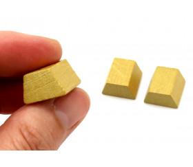 Pion de jeu ressource lingot d'or