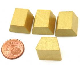 Jeton de jeu lingot d'or - argent pour jeux de stratégie