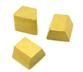Pion de jeu lingot d'or - pièces ressources