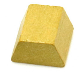 Pion lingot d'or 16 x 15 x 10 mm