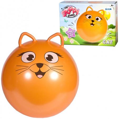Ballon chat sauteur
