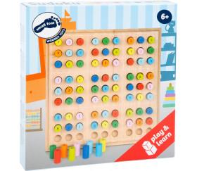 Sudoku couleurs et nombres avec cylindres bois