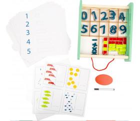 Coffret math apprentissage educate : chiffres et quantités