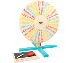roue éducative en bois pour tirage au sort