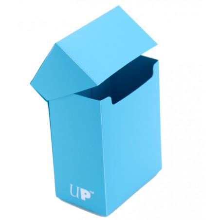 Deck box BLEU- Boite cartes de jeux - plastique 9.5 x 7 x 4.5 cm