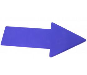 Flèche marquage au sol 35 x 13 cm bleue
