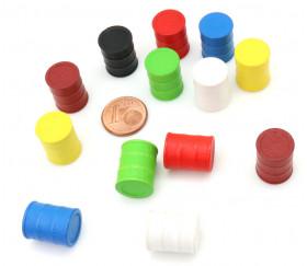 Pion petits tonneaux 15 x 17 mm baril pour jeu