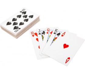 54 Cartes à jouer géante Jumbo 21 x 14 cm