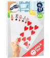 jeu de 54 Cartes à jouer géantes Jumbo XL 21 x 14 cm