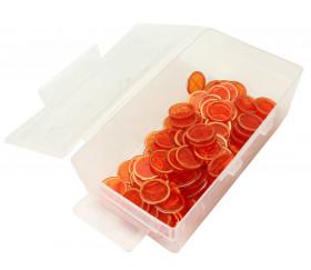 Boite plastique transparente  vide format tarot