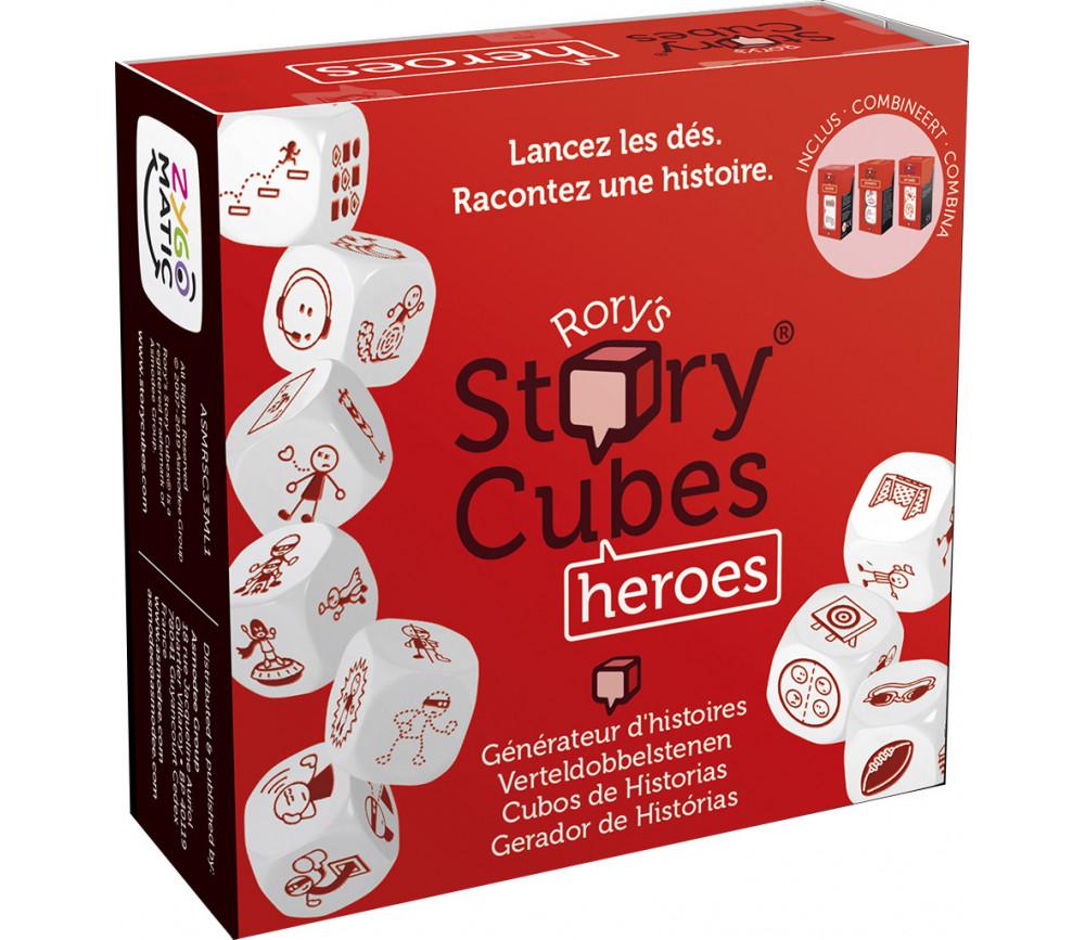 Story Cubes HEROES - 9 dés spéciaux pour jeux