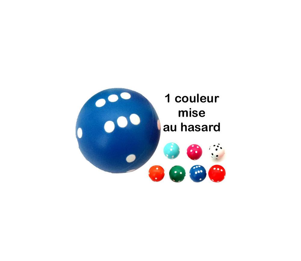 Dé rond de 20 mm de diamètre pour jouer boule