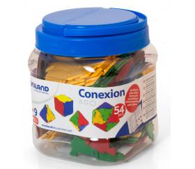 Conexion - polyedres de Platon à construire de miniland 32117