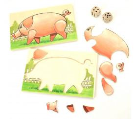 Jeu du Cochon à reconstituer - Jeu Français
