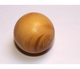 Boule buis bois de 30 mm diamètre bille naturel