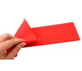 Flèche souple marquage au sol 34.5 x 16 cm rouge