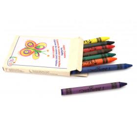 8 crayons de couleur textile pour décoration tissu