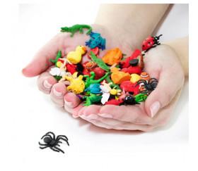 Figurine mini araignée 2.4 x 1.7 cm