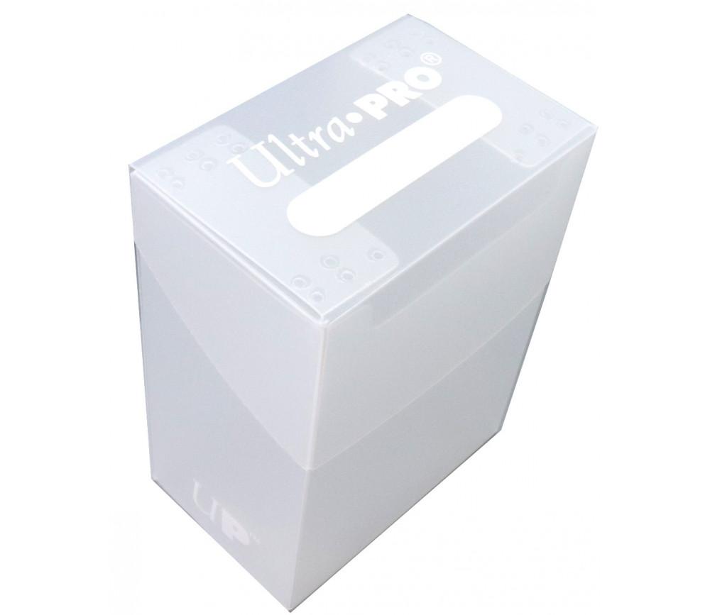 Deck box - Boite cartes de jeux - plastique transparent 9.5 x 7 x 4.5 cm