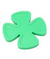 Jeton 29 mm trèfle à 4 feuilles vert