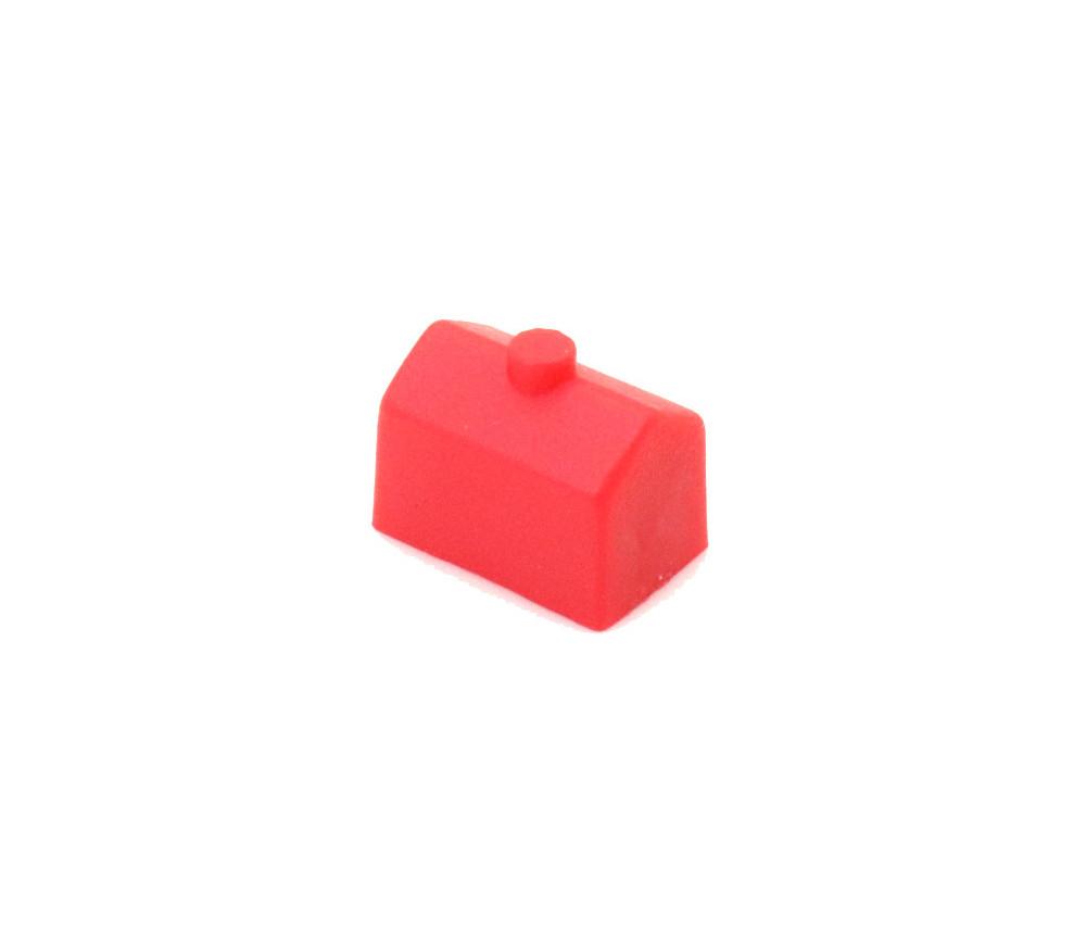 Pion maison rouge plastique
