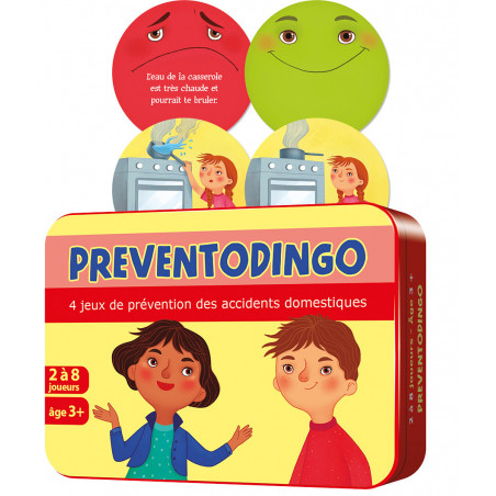 Preventodingo - jeu prévention accidents domestiques