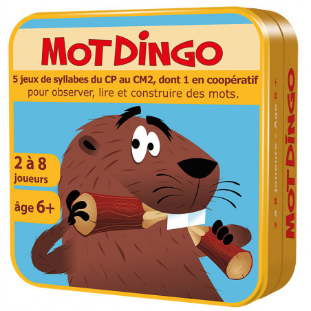 Motdingo - jeu vocabulaire du CP au CM2 (syllabe et orthographe)