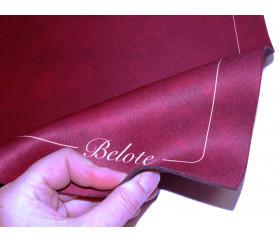 Tapis de cartes Belote classique 40 x 60 cm Bordeaux
