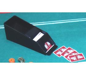 Distributeur sabot de cartes jouer plastique 6 decks de jeu