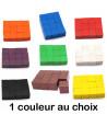 12 Cubes colorés en bois 2.5 cm. 25 x 25 x 25 mm