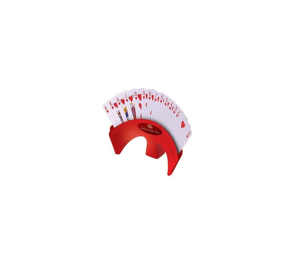 Porte carte à jouer de Luxe rouge