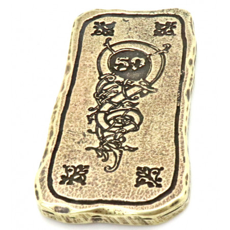 Lingot métal doré unité 50