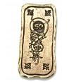 Lingot métal doré unité 50 rectangle
