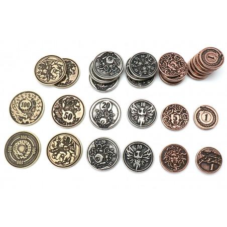 24 Pièces métal CREATURE pour jdr
