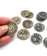 30 Pièces métal CREATURE legendaires tokens
