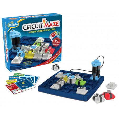 CircuitMaze jeu logique courant électrique  Thinkfun