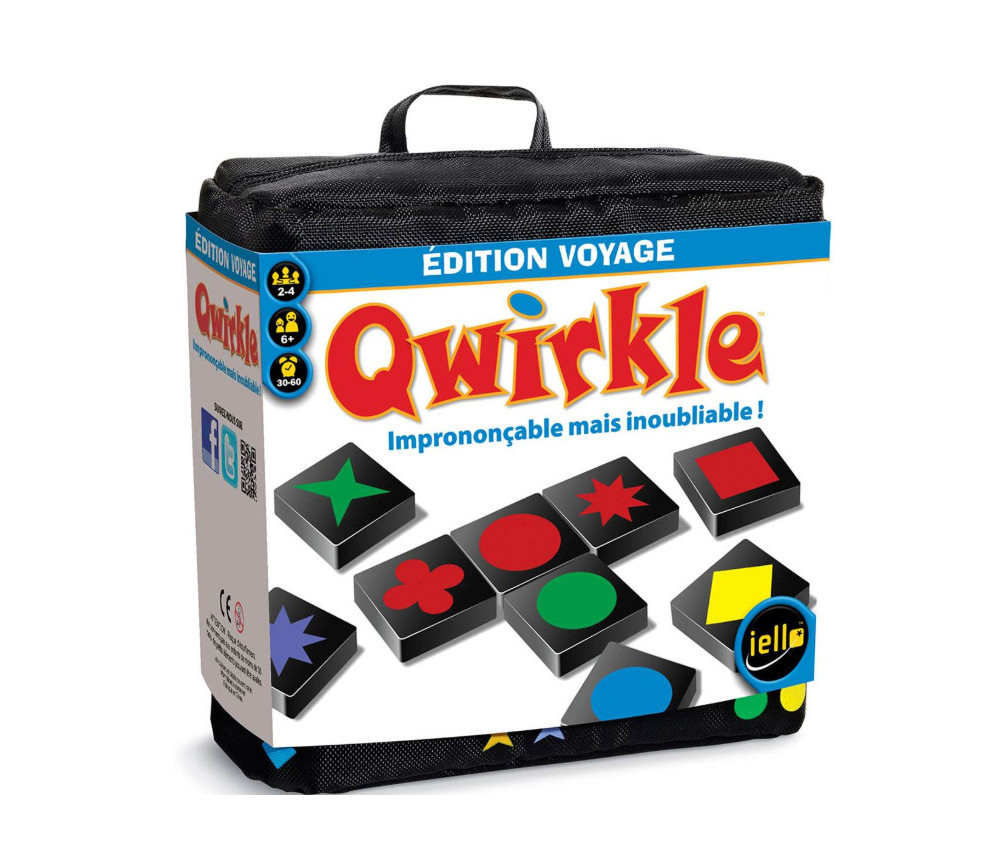 Qwirkle - jeu formes et couleurs édition voyage