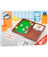 Coffret dés et cartes à jouer (mini piste intégrée)