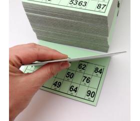 125 Cartons loto carton rigides format standard