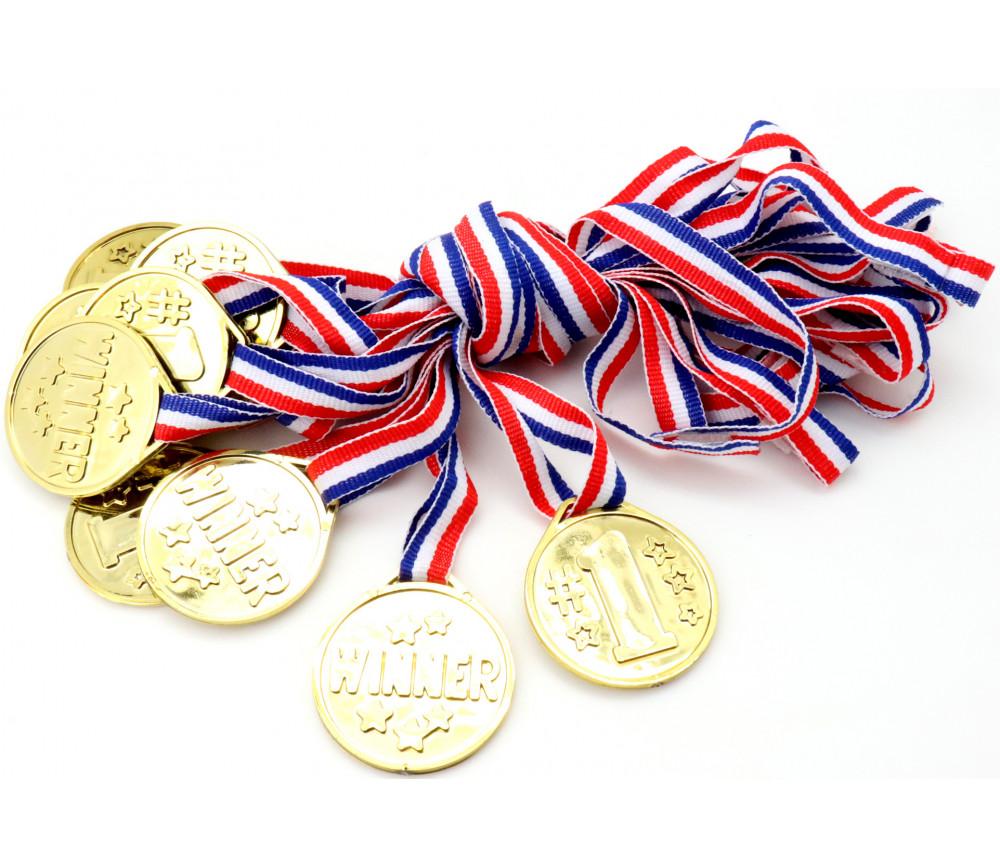 12 Médailles de jeu pour les vainqueurs de tournoi