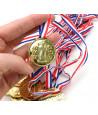 12 Médailles en plastique de jeu pour les vainqueurs de tournoi