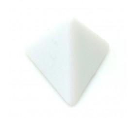 Dé 4 faces blanc neutre sans marquage 2 cm