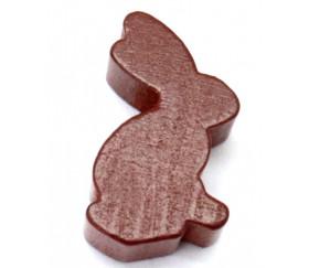 Pion en bois lapin marron animal 17 x 29 X 8 mm