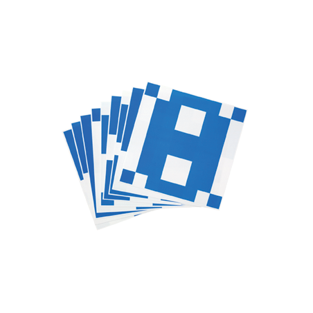 Fiches pour jeu de 16 cubes bicolores sur plateau