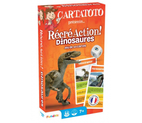 Cartatoto Les Dinosaures récréaction - jeu