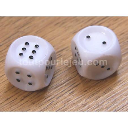 Dé tactile braille pour malvoyant pour jeu de 1 à 6