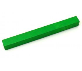 Batonnet 10 cm - 10x10x100 mm en bois pour jeu à l'unité vert