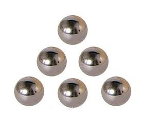 Bille métal 15 mm à l'unité 1.5 cm