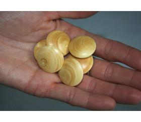 Palet galet en buis jeu de go lot de 10 palets