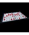 Plateau pliable contrôle loto tirage jetons 1 à 90